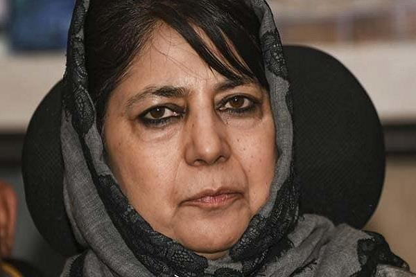 former chief minister mehbooba mufti released under house arrest last year