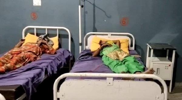 big road accident in fatehabad bus overturns in fields