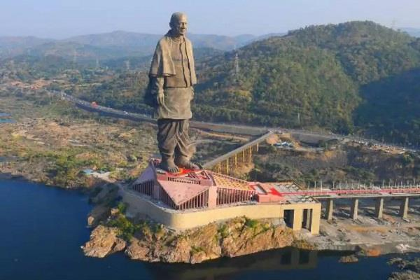 statue of unity  will be open for tourists after lockdown