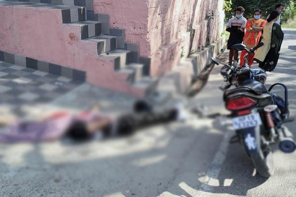 gagret road accident driver death