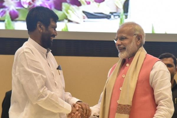 pm modi expressed grief over the death of union minister ram vilas paswan