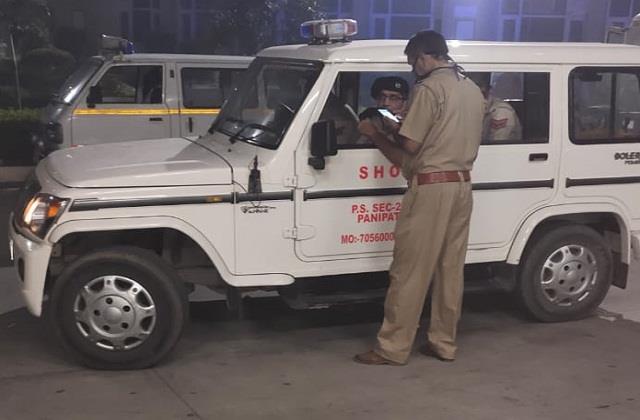 firing in panipat one died haryana breaking news