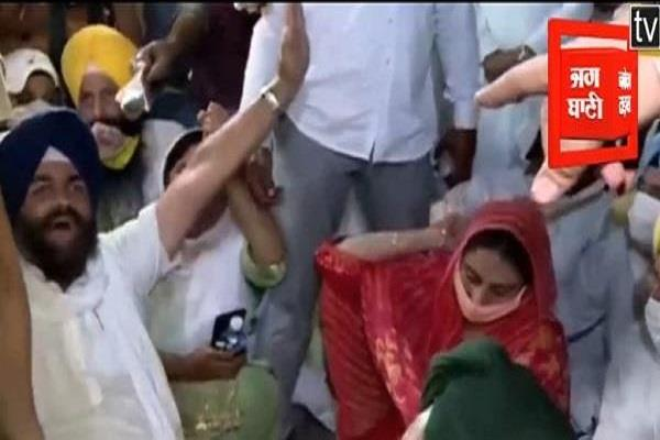 harsimrat kaur badal bunty ramana arrested