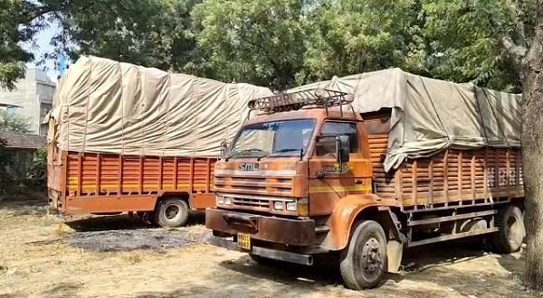 cm flying team caught 7 vehicles full of goods