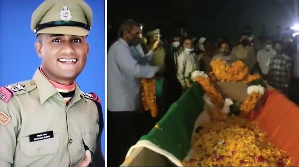 bsf sub inspector shashank martyred on duty