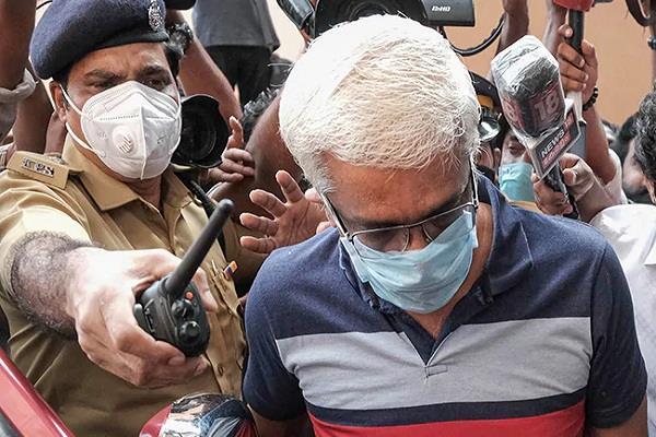 gold smuggling case ed arrested suspended ips officer shivshankar
