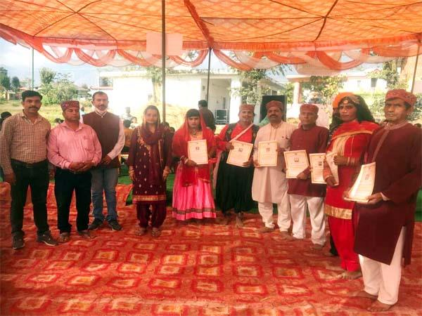villagers know the extinct folk dance tradition