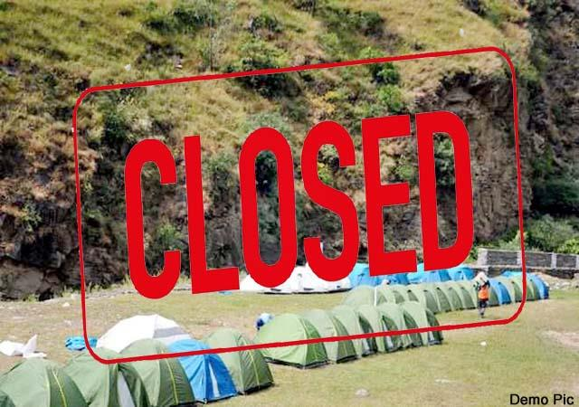 decision to close all eco tourism sites in himachal