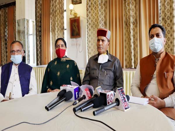 mp ramsawroop sharma target on sukhram family