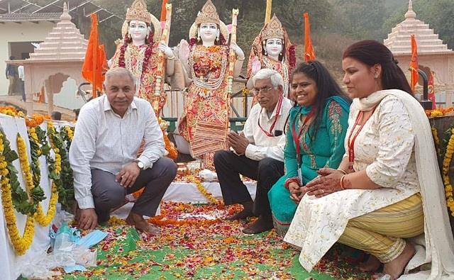 shobha yatra took place before installation of the idol