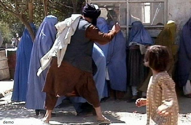 taliban violently against employed women