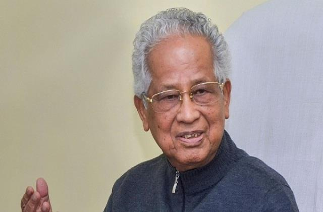 former assam chief minister tarun gogoi will be cremated today