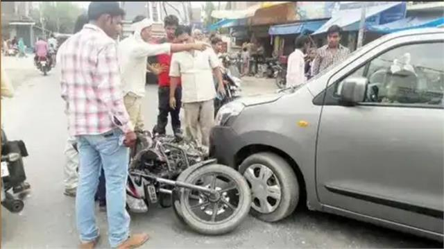 bike rider injured in car collision pgi refer