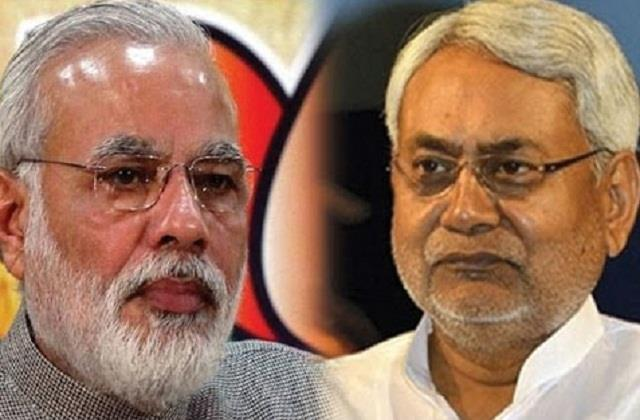 the declining graph of nitish kumar s popularity blows bjp s senses
