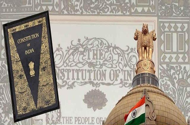 basis of indian constitution progress and stability