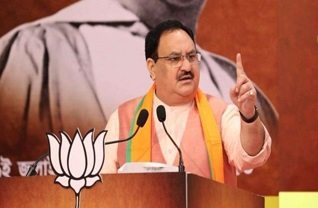 jp nadda attacked on tejashwi