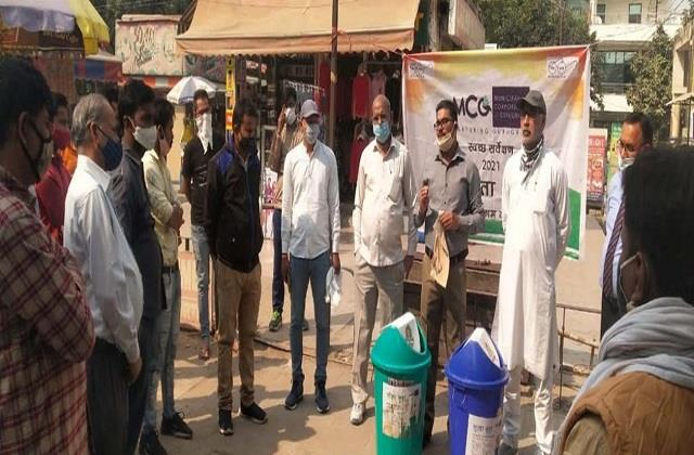 sanitation awareness campaign launched in sector 23 market