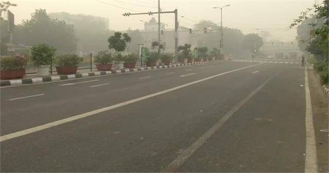pollution high in delhi