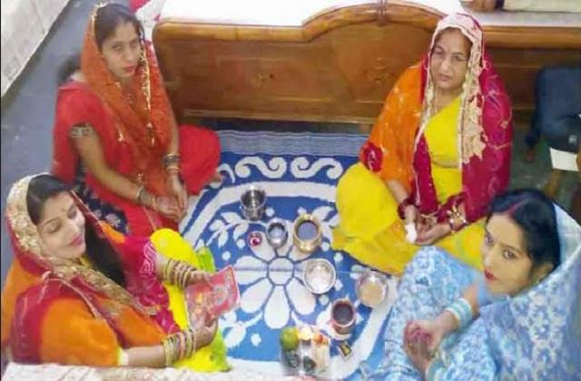 protection and longevity of the children women fasted ahoi ashtami suni katha