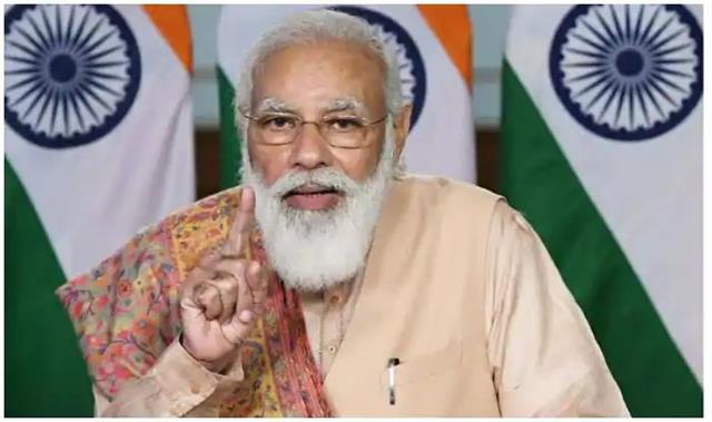 pm modi says the country is moving from the deep sea of