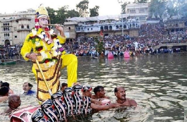 naganthaiya today shri krishna will mourn the honor of kalia nag