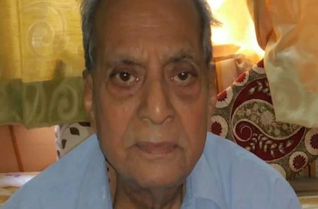 death of ghanshyam father in law of cm shivraj singh chauhan