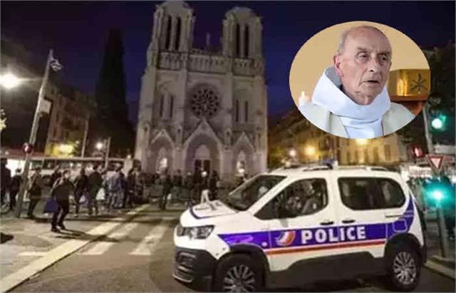 greek orthodox priest shot outside church in france s lyon