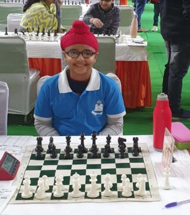 gurugram lost 10 year old emerging national chess player