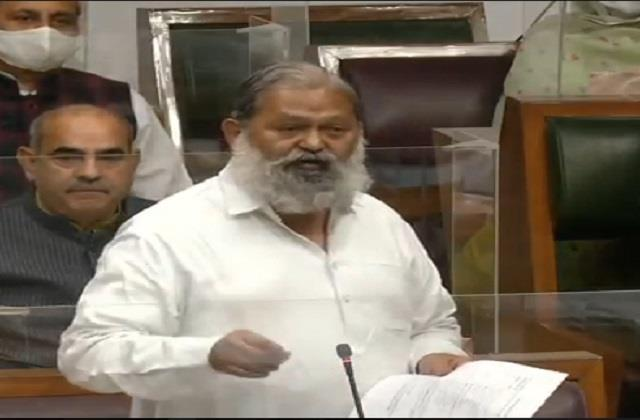 government is considering to bring a law on love jihad anil vij