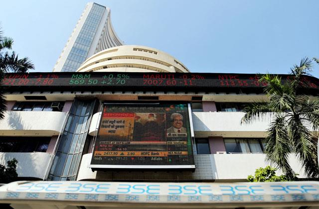 share market rises 446 points nifty crosses 13 000 mark