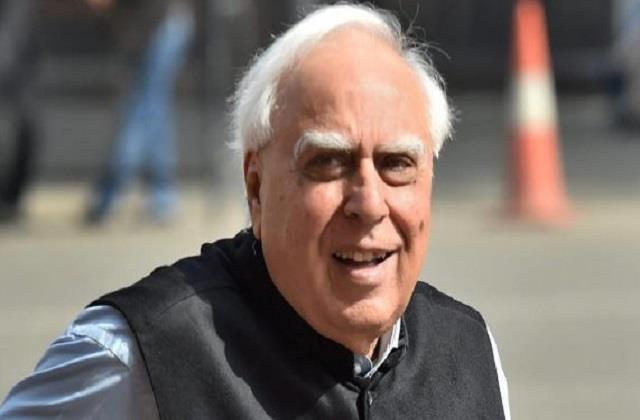 kapil sibal said people are no longer considering congress