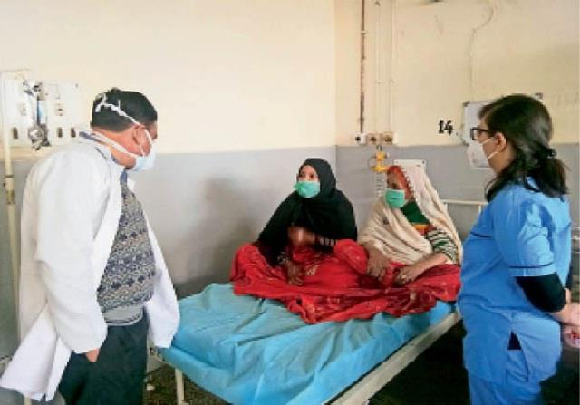 gujarati muslim family from pakistan trapped in amritsar