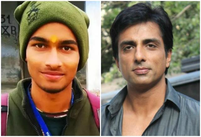 generous sonu sood extended help on just one tweet raised the burden