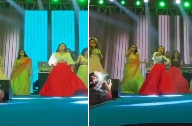 लाल घाघरा पहन संगीत सेरेमनी में नेहा ने किया था भांगड़ा, वायरल हो रहा वीडियो