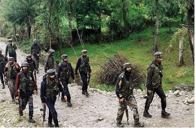 j k 3 army soldiers martyred during search operation in kupwara