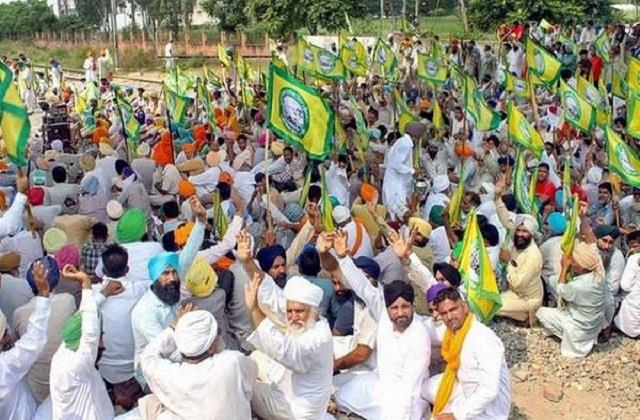 farmers protest today on highway from 12 to 4 pm