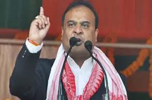 congress is playing communal card said assam leader