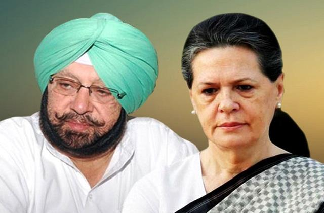 captain amarinder singh says sonia will  be president  as long as she wants