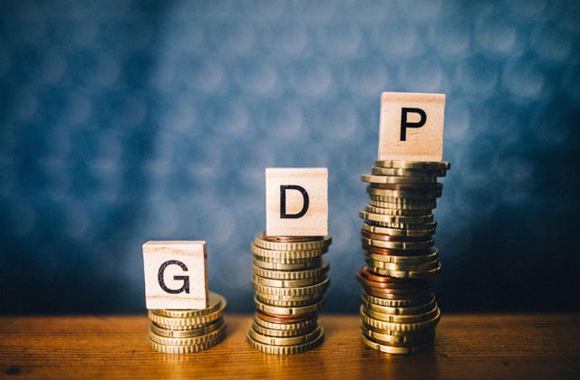 gdp figures better than estimates down 7 5 in q2