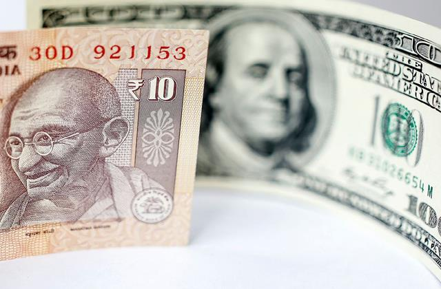 rupee gained 24 paise to 74 38 per dollar in early trade