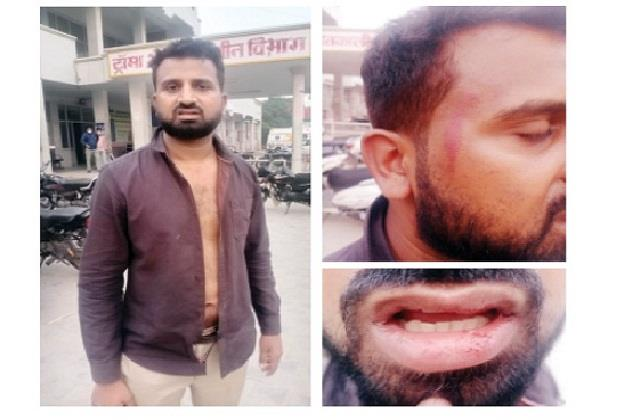 lawyer attacked punjab youth who came to court sirsa