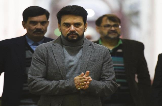 jammu and kashmir local body elections bjp made anurag thakur in charge