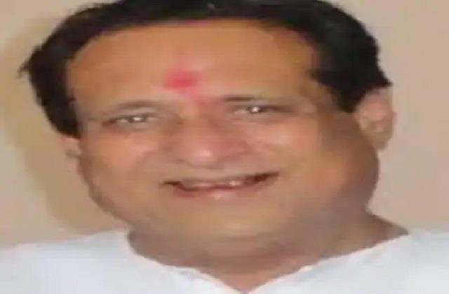 congress mla dies before heart attack