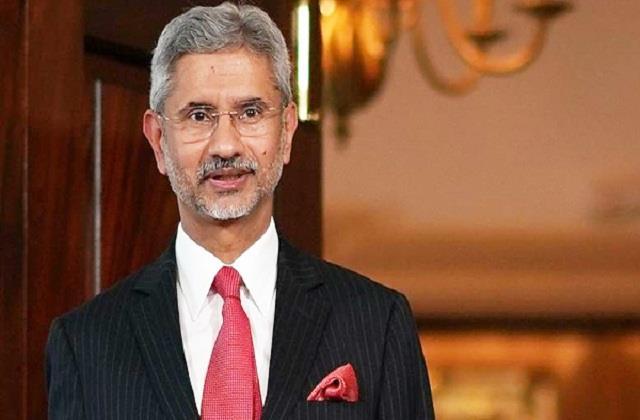 jaishankar said on cross border terrorism india will have to fight unitedly