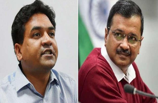 national news delhi diwali arvind kejriwal bjp kapil mishra