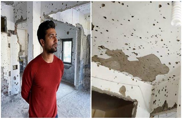 26/11: विक्की पहुंचे नरीमन हाउस, दीवारें आज भी बयां कर रही दिल दहला देने वाला मंजर