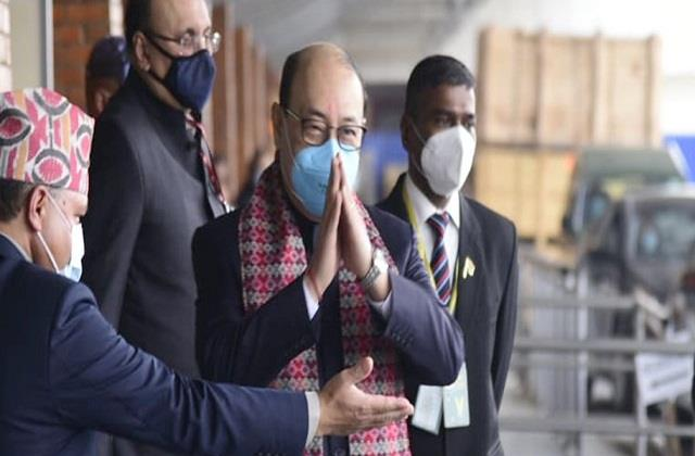 foreign secretary shringla received a grand welcome in nepal
