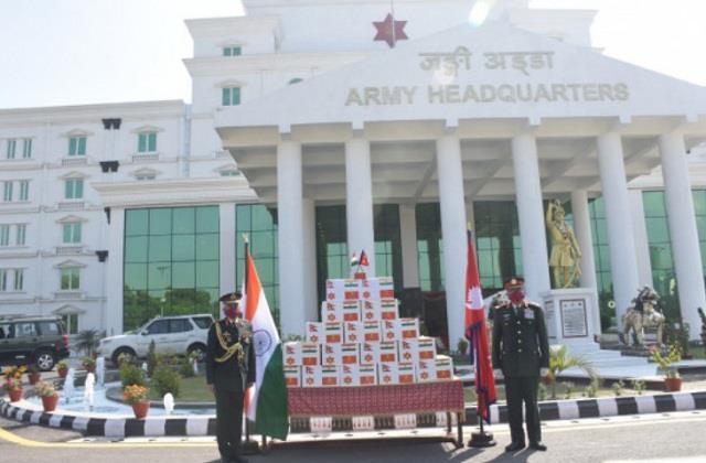 national news indian army general manoj mukund narwane nepal kathmandu