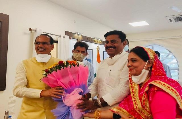 protem speaker wishes chief minister shivraj
