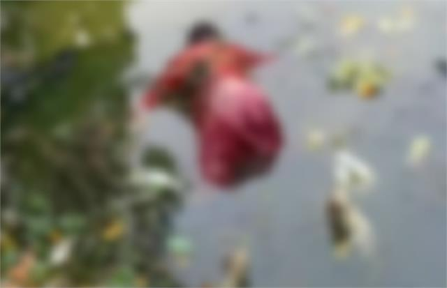 etawah missing girl s body recovered from pond feared murder after gang rape